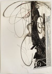 Untitled by Mario Schifano contemporary artwork works on paper, drawing