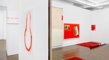 Contemporary art exhibition, David Ostrowski, The Thin Red Line at Sprüth Magers, London