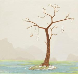 Coastal Haven by Mark Rodda contemporary artwork