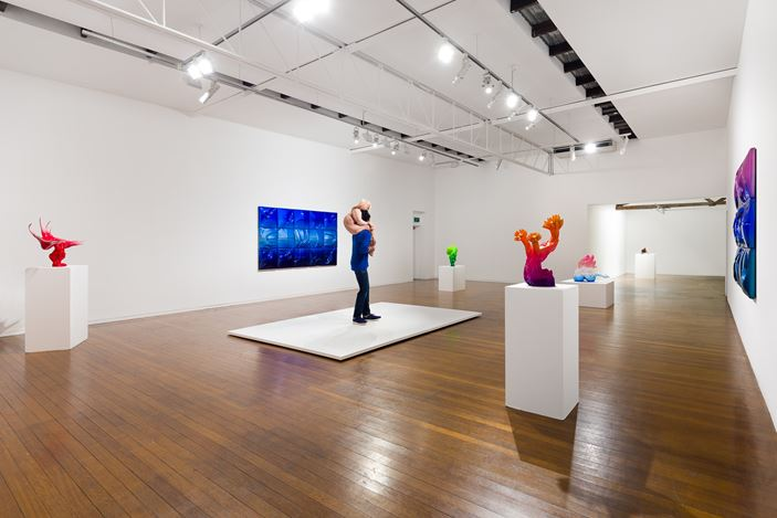 Exhibition view: Patricia Piccinini,The Gardener's Eye, Roslyn Oxley9 Gallery, Sydney (20 August –19 September 2020). Courtesy Roslyn Oxley9 Gallery. Photo: Luis Power