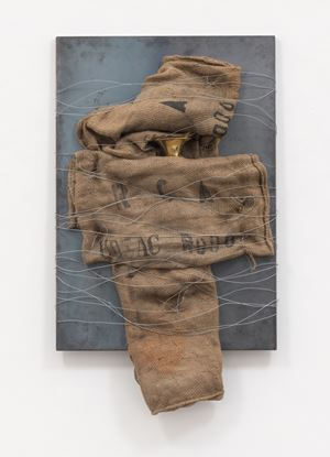 Senza titolo (Untitled) by Jannis Kounellis contemporary artwork