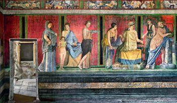 Robert Polidori Captures Pompeii's Villa dei Misteri