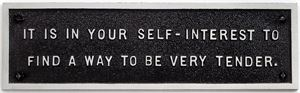 Survival: It is in your self-interest... by Jenny Holzer contemporary artwork