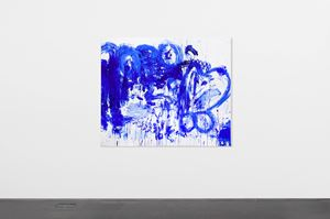 Double Fly Klein Blue 3 by Double Fly Art Center contemporary artwork