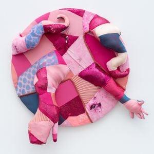 Knead myself (pink) by Trevon Latin contemporary artwork sculpture