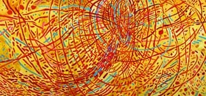Magnetic Fields by Mildred Thompson contemporary artwork