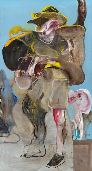 On the Road to Tarascon 4 by Adrian Ghenie contemporary artwork