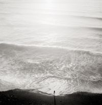 Figure and Tide, California, 2001 by Jeffrey Conley contemporary artwork photography