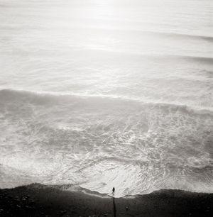 Figure and Tide, California, 2001 by Jeffrey Conley contemporary artwork