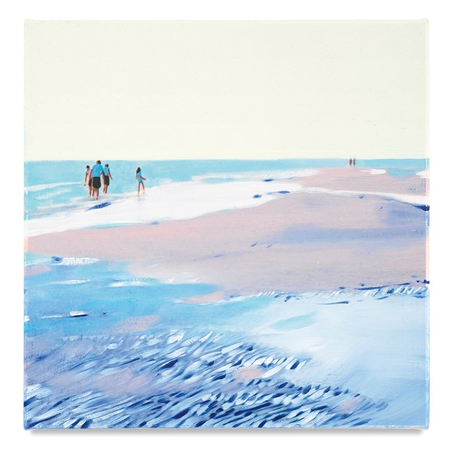 Pattern Beach by Isca Greenfield-Sanders contemporary artwork