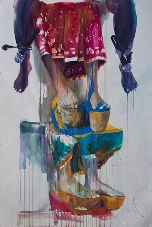 The Honored Voices #2 by Nindityo Adipurnomo contemporary artwork