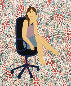 Ayesha by Ayesha Green contemporary artwork