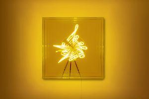 Keep at it by Brigitte Kowanz contemporary artwork