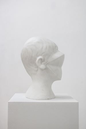 Untitled (Face) by Yang Maoyuan contemporary artwork