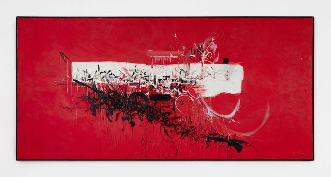 Hugues de Payens fonde l'ordre du Temple by Georges Mathieu contemporary artwork