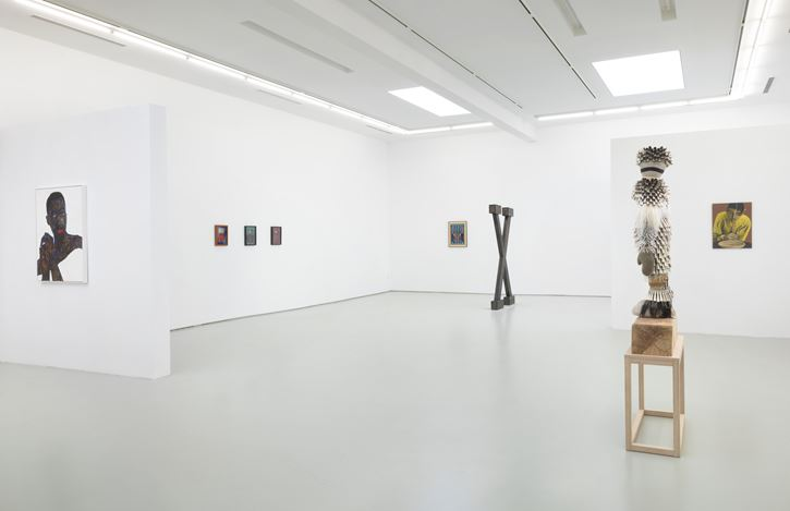 Exhibition view: Group Exhibition, Synchronicity, Roberts Projects, Los Angeles (19 September–12 December 2020). Courtesy Roberts Projects.