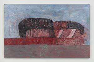 Head-Legs-Sea by Philip Guston contemporary artwork