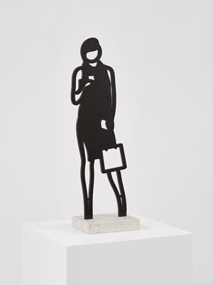 Telephone by Julian Opie contemporary artwork
