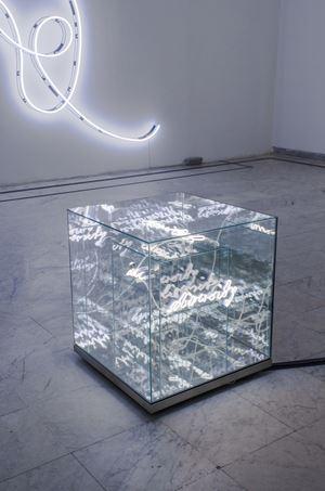 United in Diversity by Brigitte Kowanz contemporary artwork