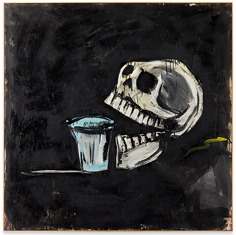 Immer Trinken by Walter Dahn contemporary artwork