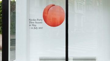 Contemporary art exhibition, Nicolas Party, Three Seasons at Xavier Hufkens, Rivoli, Brussels