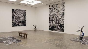 Contemporary art exhibition, Patricia Perez Eustaquio, Hoarding Fossils in Blankets at SILVERLENS, Manila