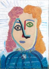 Tête de femme by Pablo Picasso contemporary artwork painting