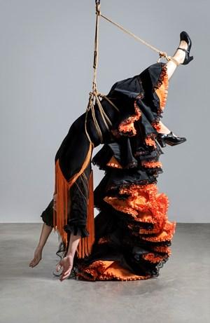 Bleue (da série Carne y Tiempo) by Pilar Albarracín contemporary artwork