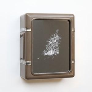 Square Clock Box - Loop by Ken Matsubara contemporary artwork