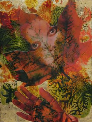 Autumn Goodbye by Marnie Weber contemporary artwork