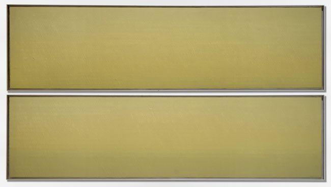 Dos espais horitzontals 1 i 2 by Joan Hernández Pijuan contemporary artwork