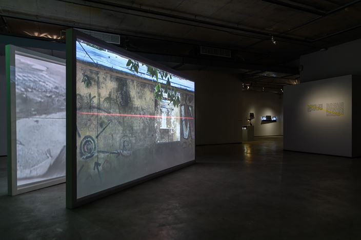 Exhibition view: It is the Fate of Glass to Break,curated by Jay Chun-Chieh Lai, TKG+ Projects (23 February–28 April 2019). Courtesy TKG+ Projects.