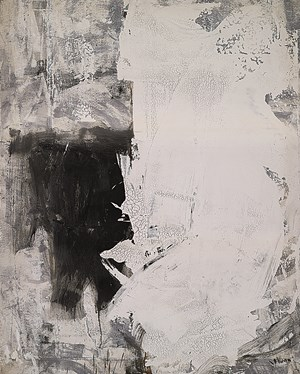 White and White Color No.2 by Huang Rui contemporary artwork
