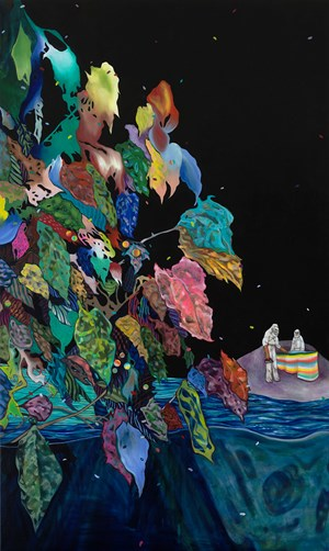 Island of bee 蜂島 by Kao Ya-Ting contemporary artwork