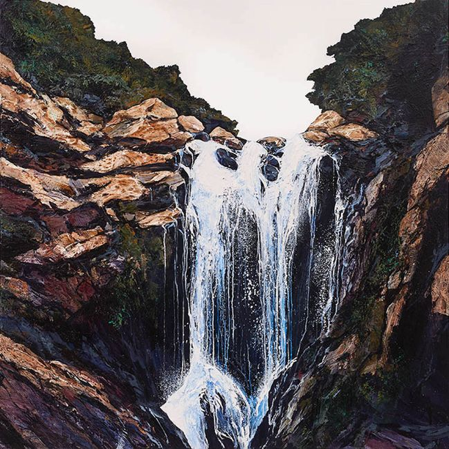 Outpouring by Neil Frazer contemporary artwork