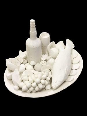 Fish Plate by Ken + Julia Yonetani contemporary artwork