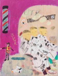 Hair Salon in Bangkok by Wang Yuping contemporary artwork painting