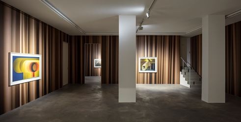 Exhibition view: Thomas Demand, ARCHIVMATERIAL / NEW STOP MOTION, Sprüth Magers, Berlin (24 November 2018–19 January 2019). Photo: © Timo Ohler 2018. Courtesy Sprüth Magers.