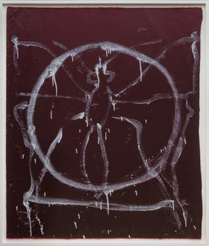 Como Circle by Joan Jonas contemporary artwork painting