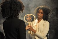 The Considered, See Bergman by Carrie Mae Weems contemporary artwork photography, print