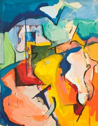 Passages by Audrey Flack contemporary artwork painting, works on paper