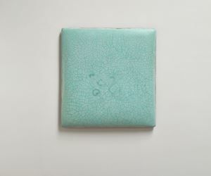 Infinity - No. 6 (Turquoise) 冰裂-6 by Su Xiaobai contemporary artwork