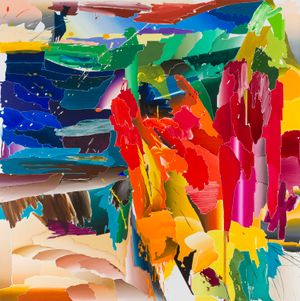 After De Kooning No.6 by Seoul Kim contemporary artwork painting