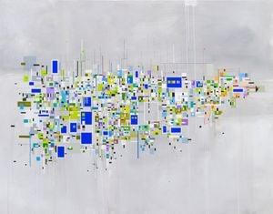 Untitled (Cloud) by Bart Stolle contemporary artwork