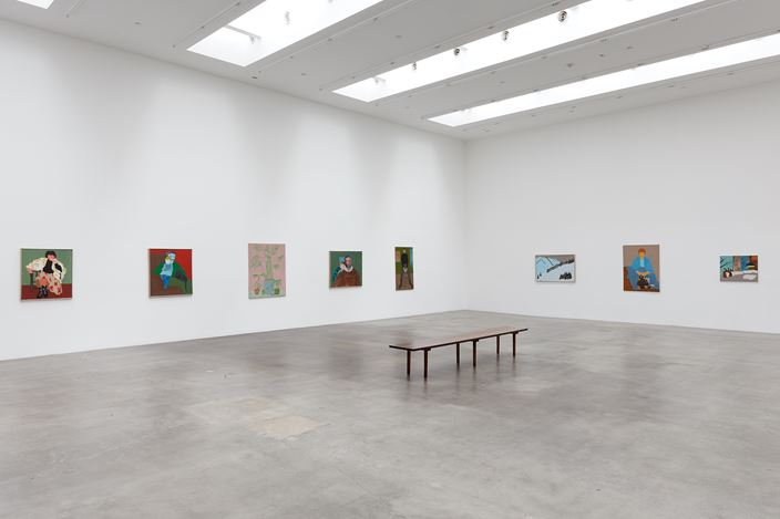 Exhibition view: March Avery, Blum & Poe, Los Angeles (14 November 2020–9 January 2021). © March Avery. Courtesy the artist and Blum & Poe, Los Angeles/New York/Tokyo. Photo: Heather Rasmussen.