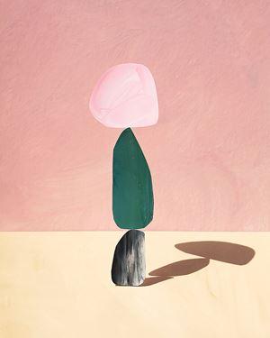 rose by Ina Jang contemporary artwork