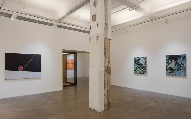 Exhibition view: Gao Ludi, Lu Song, and Xie Nanxing, Points of Departure, Lehmann Maupin, Hong Kong (20 July-9 September 2017). Courtesy Lehmann Maupin, Hong Kong.