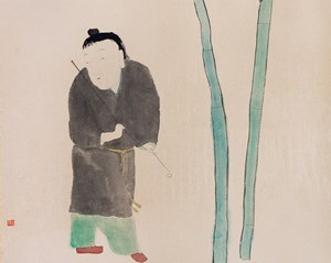 Search for Spring by Wang Mengsha contemporary artwork