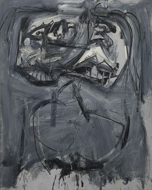 Stima by Antonio Saura contemporary artwork