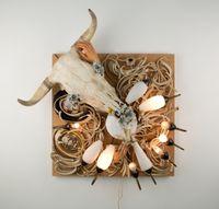 Erstletzdaserste by Daniel Spoerri contemporary artwork sculpture